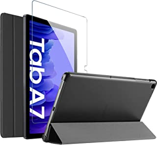 """ProCase Galaxy Tab A7 10.4"""" 2020 Case (SM-T500/T505/T507) with Tempered Glass Screen Protector, Slim Stand Hard Shell Prot..."""