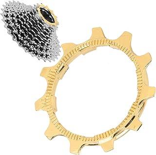DAUERHAFT Herramienta de reparación de Bicicletas Piezas de reparación de Casete de Volante de Bicicleta Cassette de Volan...