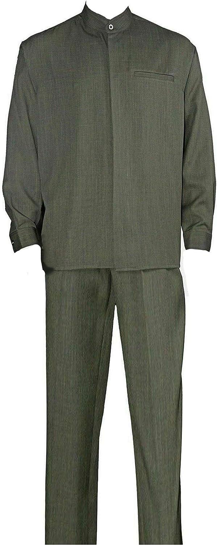 Milano Moda Ranking TOP13 Banded Collar Long Suit Walking Nippon regular agency Sleeve M2826