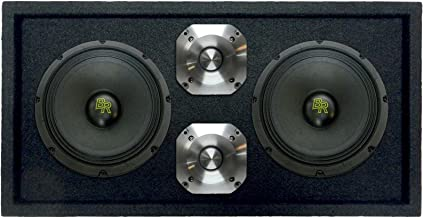 Bass Rockers Loaded 1200 Watts Speaker Pod Box: Two 8