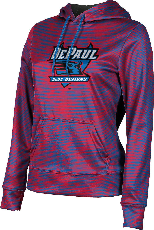 ProSphere DePaul University Girls' Pullover Hoodie, School Spirit Sweatshirt (Velocity)