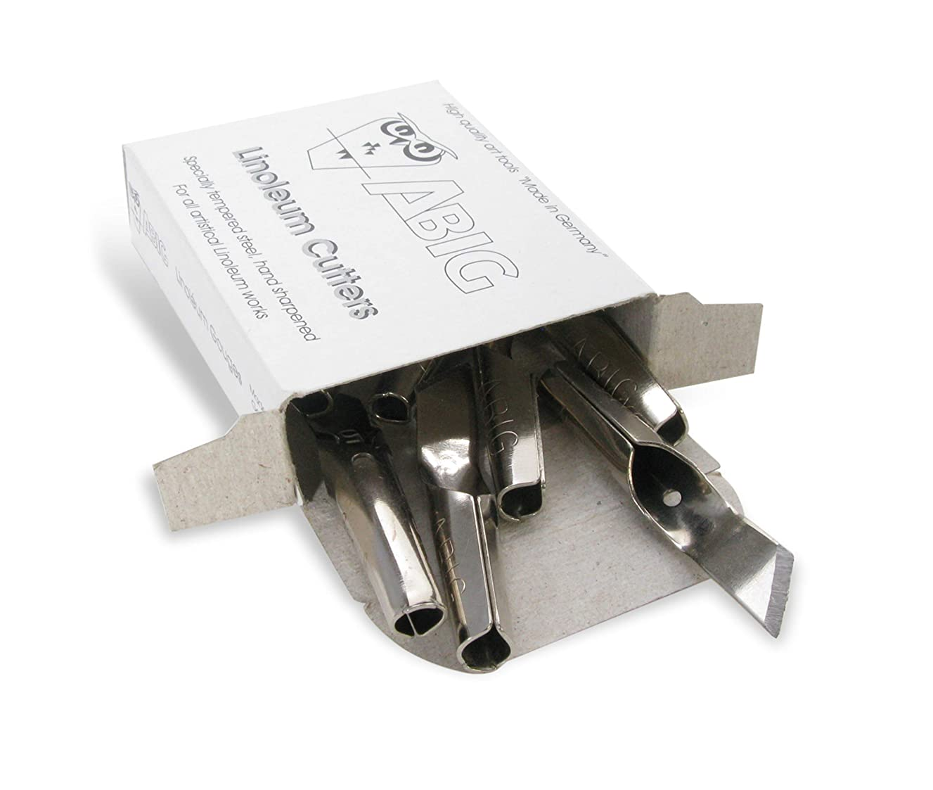 American Educational Products A-120305 ABIG Blade for Clean Edge Cutting, 6 mm, Hardened Steel