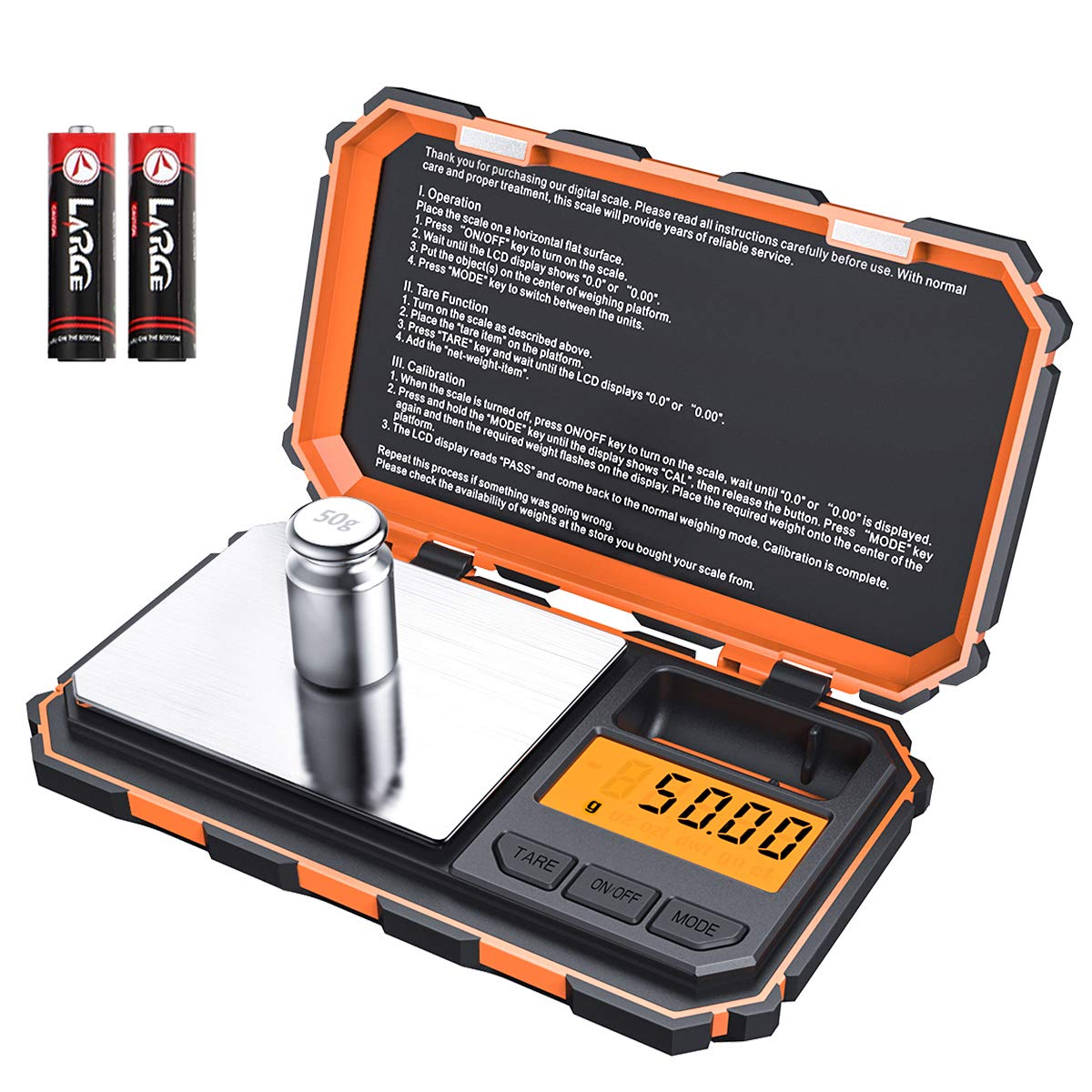 Digital calibration Electronic Stainless Included