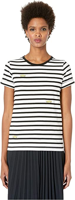Broome Street Tiny Taxi Stripe Tee
