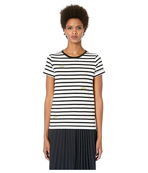 Kate Spade New York Broome Street Tiny Taxi Stripe Tee