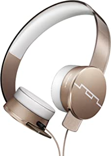 SOL REPUBLIC Tracks HD2 On-Ear Headphones – Noise Isolation, Cable with Mic + 3 button Remote, Virtually indestructible, Lightweight, Carrying Case, SOL-HP1251GD Gold