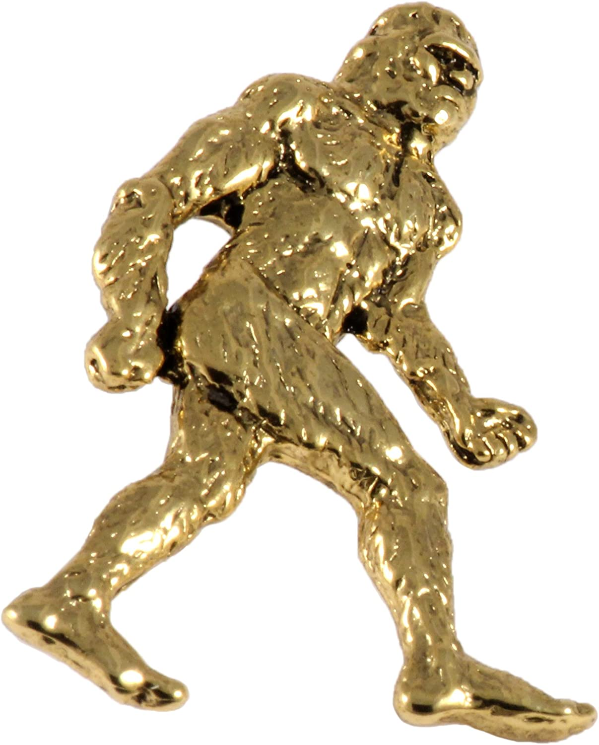 Handcrafted Sasquatch Bigfoot Brooch and Ful Max 61% OFF Pins Head Max 89% OFF - Lapel