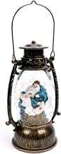 Evelyne GMT-10316 Jesus Christ Nativity Christmas Snow Globes Collectibles - Battery Operated LED Lighted Swirling Glitter Water Lantern - Christmas Decorations for The Home (No Music)