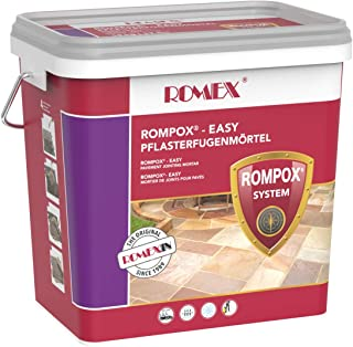 Rompox-Easy The No. 1 pre-Mixed Permeable Joint Compound. Color Grey, 33 pounds