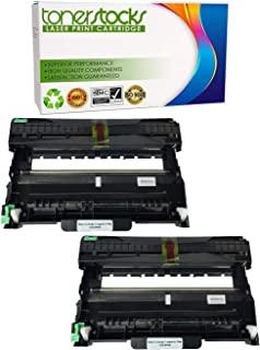 Tonerstocks New Compatible Brother DR420 Drum Unit for Brother HL2130, HL2132, HL2220, HL2230, HL2240, HL 2240 HL2240D, HL2240DW (2 Pack)