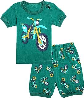 WWEXU - Pijama para niño, Talla 12 M - 12, 100% algodón, cómodo Pijama para niños, diseño de Estrellas