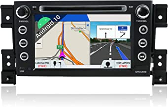 JOYX Android 10 Autoradio Car Stereo para SuzukiGrandVitara2005-2018 Navegacion   2G+32G   Gratis Cámara Micrófono   GPS 2 DIN   Apoyo Dab+ 4G WLAN BT5.0 Carplay Control Volante Google   7 Pulgada