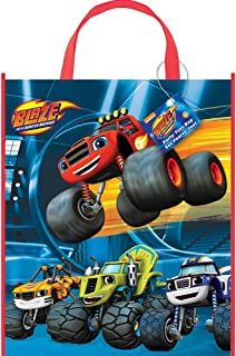 "Large Plastic Blaze and the Monster Machines Goodie Bag, 13"" x 11"""