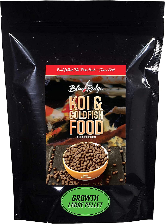 Blue Ridge Fish Food Pellets Koi New life F Formula Goldfish and Growth Dallas Mall