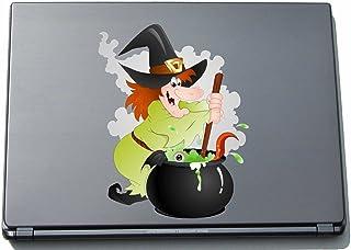 Naklejka na laptopa - czarownica 05 - witch - laptop skin - 210 x 162 mm naklejka