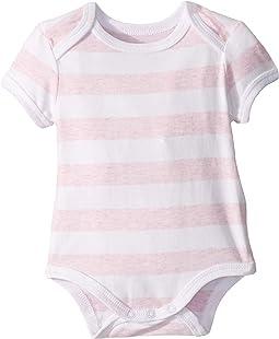 White/Pink Marle Stripe