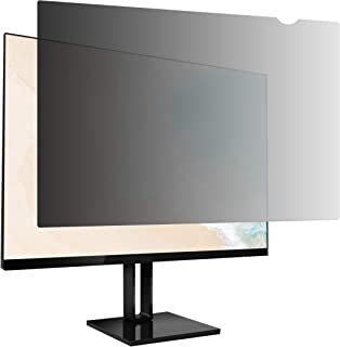 AmazonBasics Privacy Screen Filter for 15.6 Inch 16:9 Widescreen Monitor
