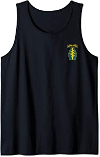 Army Special Forces Green Berets Military Veteran Tank Top