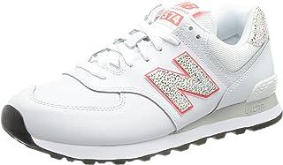 New Balance WL574AP2_41,5, Zapatillas Mujer, Beige, 41.5 EU