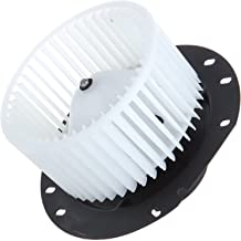 SCITOO ABS plastic Heater Blower Motor w/Fan HVAC Resistors Blowers Motors Replacement fit for 1997-2013 Ford E150 Van /1997-2013 Ford E250 Van /1997-2013 Ford E350 Van Front