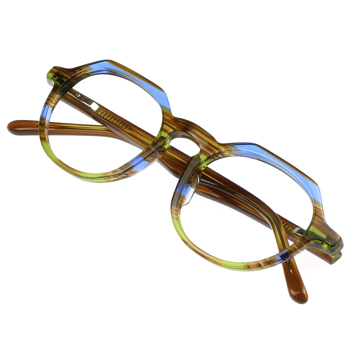 Blue Light Blocking Computer Glasses, Reading/Gaming/Glasses for Adults, Anti Eyestrain Filter UV Glare & Reduce Headache (+2.25 Magnification)