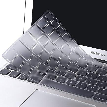 MOSISO EU/IT Layout Copertura Tastiera Compatibile MacBook PRO 13 Pollic/15 Pollici(con/out Display Retina,2015/Versione Precedente) MacBook Air 13 Pollici(A1369/A1466,Edizione 2010-2017),Trasparente