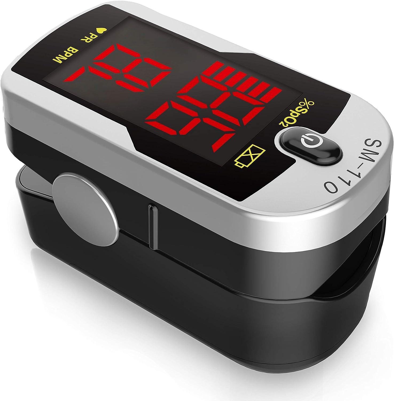 Santamedical Deluxe SM-110 Two Way Display Finger Pulse Oximeter