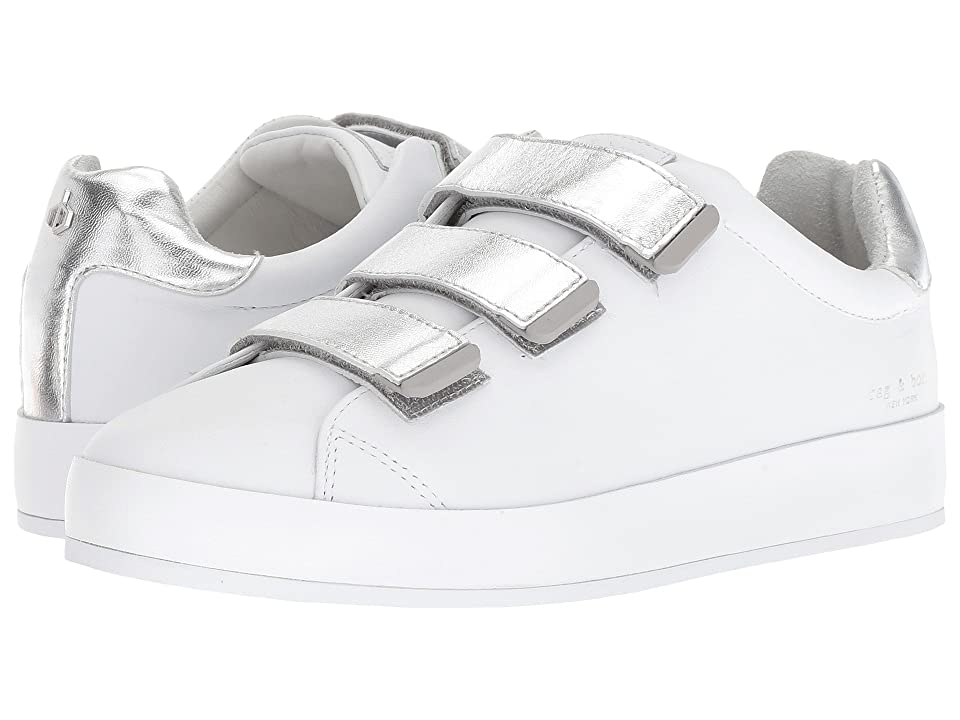 rag & bone RB2 (White/Silver) Women