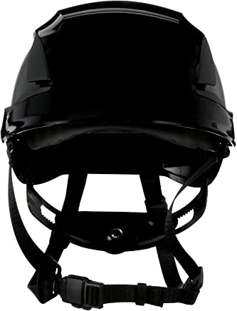 3M SecureFit Safety Helmet, X5012V-ANSI, Black, Vented