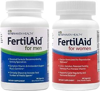 Fertilaid for Men and FertilAid for Women Combo (1 Month Supply)