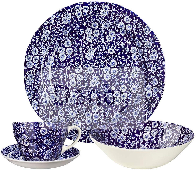 comprar marca 815040753 Calico - Juego de de de 3 tazas de desayuno, Color azul  excelentes precios