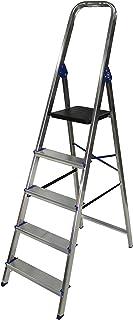 Escalera domestica de aluminio Altipesa (Aluminio, 5 PELDAÑ