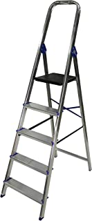 comprar comparacion Escalera domestica de aluminio Altipesa (Aluminio, 5 PELDAÑOS)