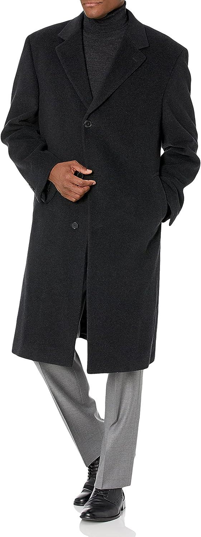 Hart Schaffner Marx Men's Stanley Cashmere-Blend Coat