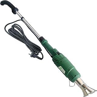 VOUNOT Unkrautbrenner Elektrisch 2000W, Elektrischer Unkrautvernichter mit 2 Düsen und 5m Kabel, Umweltfreundlich OHNE Gas oder Flammer