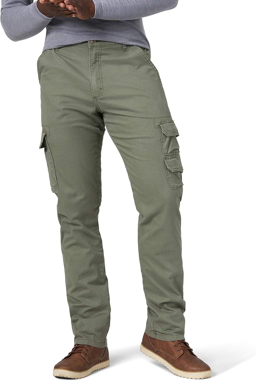 Olive Drab Regular Taper Cargo Pants