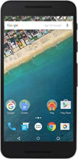 LG Nexus 5X H791 32GB Carbon Black, Factory Unlocked EU GSM Smartphone, International Model, No Warranty