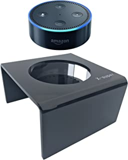 Alexa's BFF-Acrylic Speaker Stand Home Décor Guard Station For Alexa (Black)