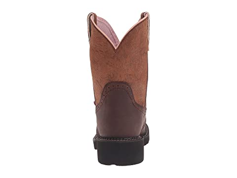 Perfed W Justin Bark CowTan Deer Aged SaddleBlack Gemma BrownMossPink CowCafe wZxF1