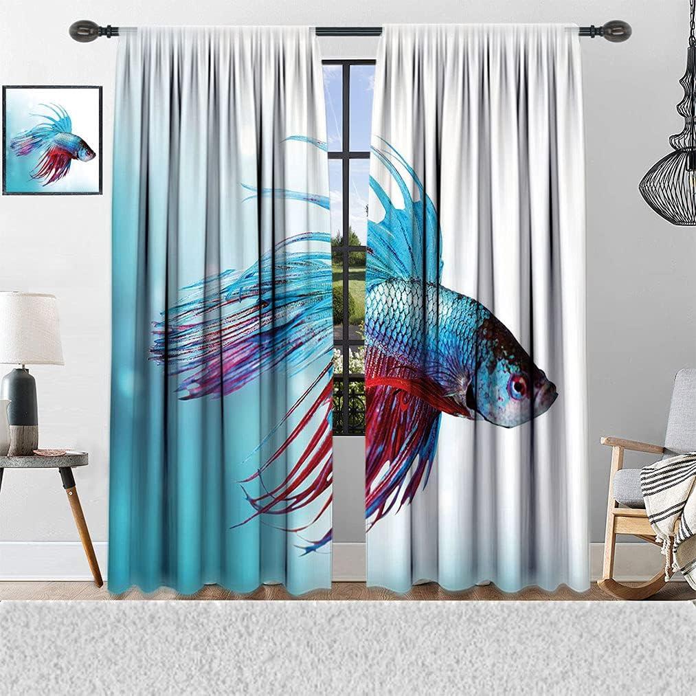 Aquarium Extra Large Curtain New product!! Siamese Swimmi Fish Special Campaign Fighting Betta
