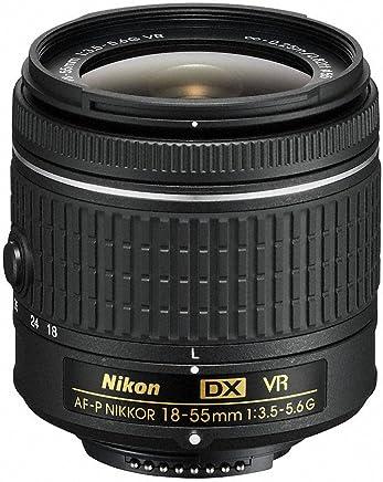 Nikon 18-55mm f/3.5-5.6G VR AF-P DX Zoom-Nikkor Lens -...