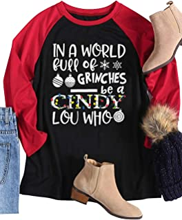 cindy lou who shirts