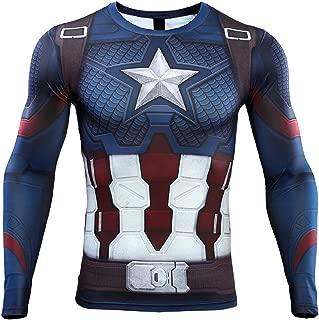 superhero compression shirts long sleeve
