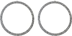 Steve Madden - Casted Hoop Post Earrings