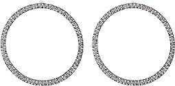 Casted Hoop Post Earrings