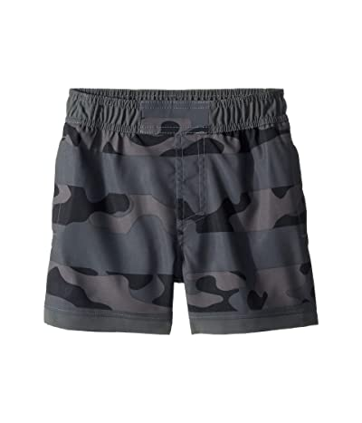 Columbia Kids Sandy Shorestm Boardshorts (Toddler) (Grill Camo Stripe/Grill) Boy