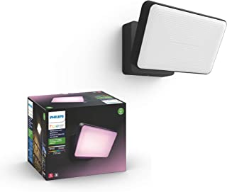 Philips Hue Discover Outdoor White & Color Ambiance Smart Floodlight (Hue Hub Required, Smart Light Works with Alexa, Appl...