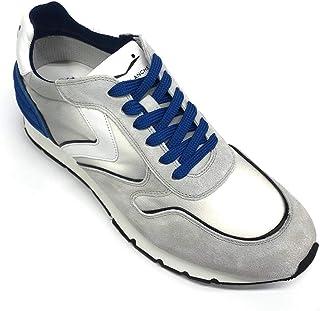 VOILE BLANCHE Liam Power Sneaker Comoda Uomo in Pelle e Tessuto