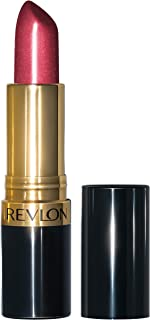 Revlon Super Lustrous Lipstick with Vitamin E and Avocado Oil, Pearl Lipstick in Berry, 520 Wine with Everything, 0.15 oz