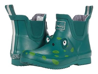 Joules Kids Wellibob (Toddler/Little Kid/Big Kid) (Green Frog) Girl